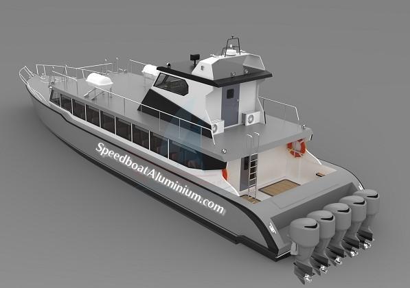 Jual Express Boat Aluminium