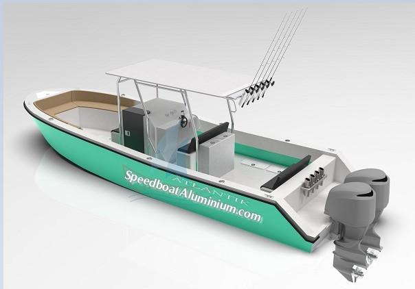 Jual Fishing Boat Aluminium