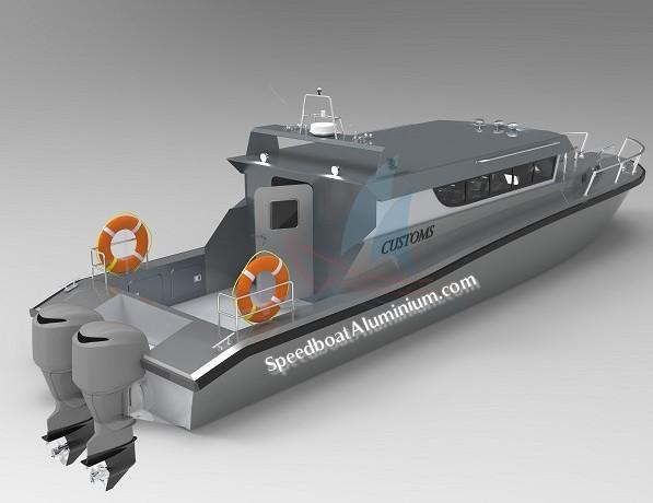 Jual Guard Boat Aluminium