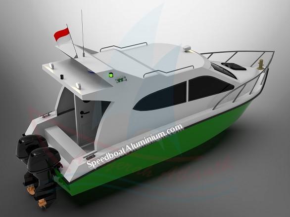 Jual Patrol Boat Aluminium