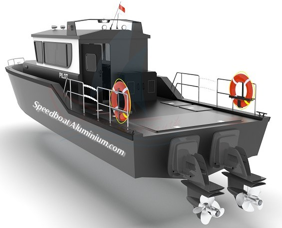 Jual Pilot Boat Aluminium
