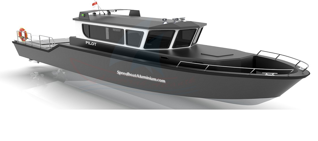 Jual Speed Boat Aluminium Pilot Big
