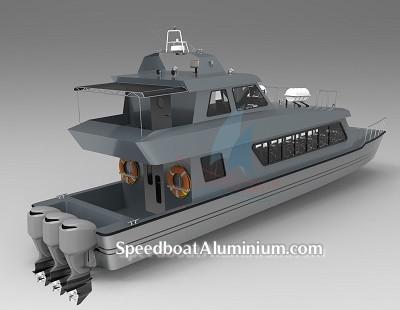 Jual Speed Boat Aluminium Wisata