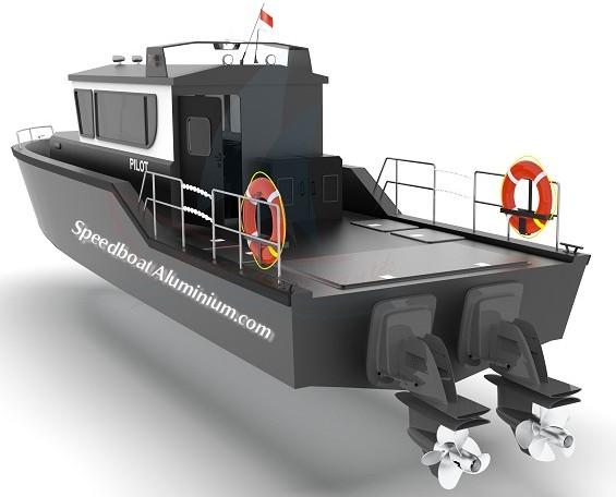 Pilot Boat Aluminium