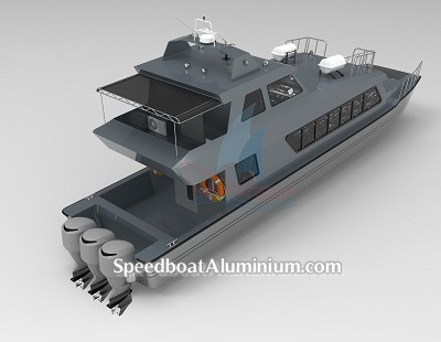 Speed Boat Penumpang 4