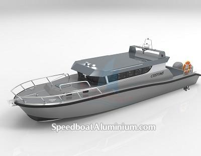 Speed Boat Aluminium Guard 1