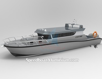 Speed Boat Aluminium Guard 2