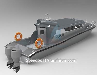 Speed Boat Aluminium Guard 3