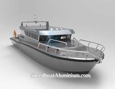 Speed Boat Aluminium Guard 4