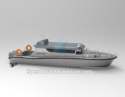 Speed Boat Aluminium Guard 5
