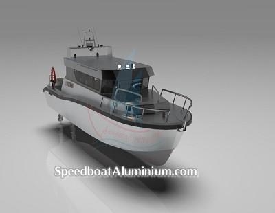 Speed Boat Aluminium Guard 6
