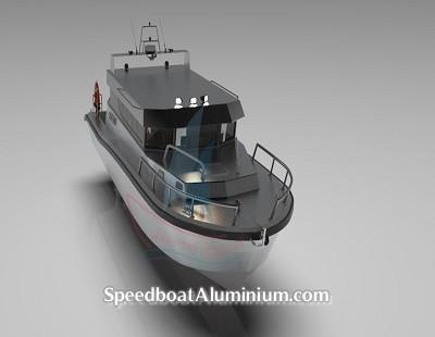Speed Boat Aluminium Guard 7