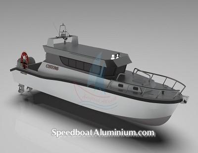 Speed Boat Aluminium Guard 8