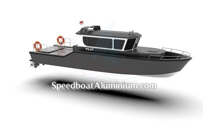 Speed Boat Aluminium 1