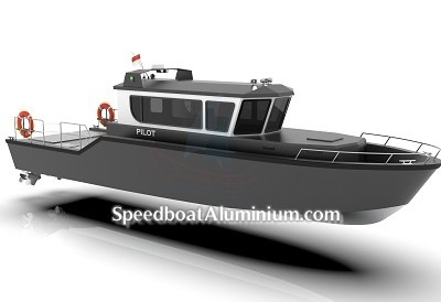 Speed Boat Aluminium 2