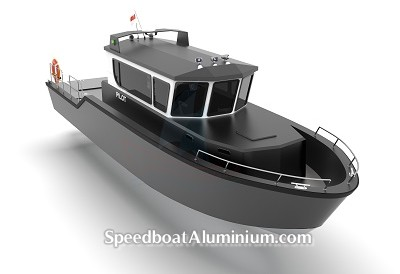 Speed Boat Aluminium 3