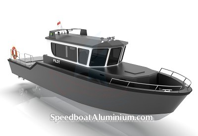 Speed Boat Aluminium 7