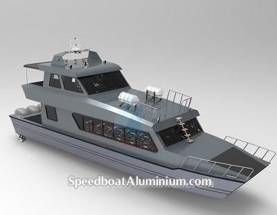 SpeedBoat Wisata Aluminium 1