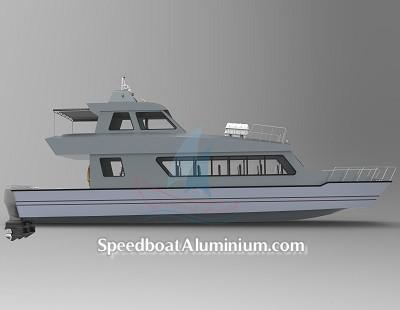SpeedBoat Wisata Aluminium 2