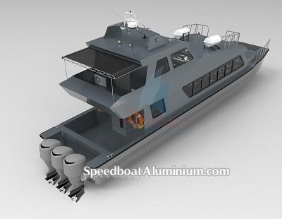 SpeedBoat Wisata Aluminium 4