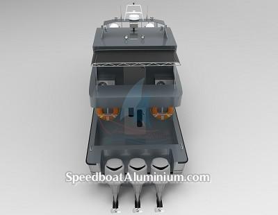 SpeedBoat Wisata Aluminium 5