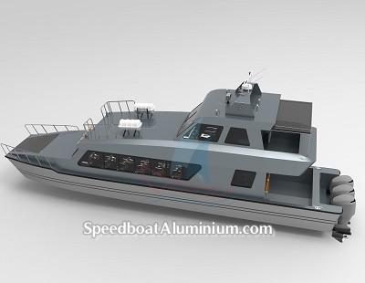 SpeedBoat Wisata Aluminium 6