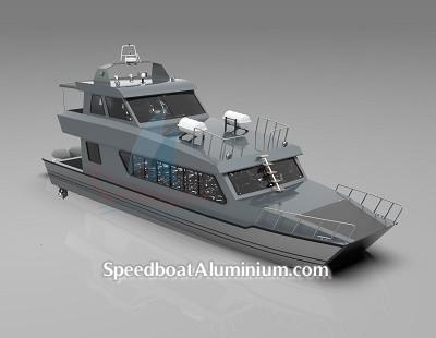 SpeedBoat Wisata Aluminium 7