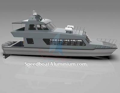 SpeedBoat Wisata Aluminium 9